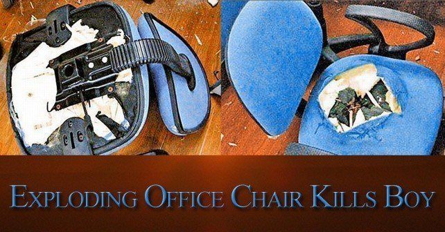 Exploding Office Chair