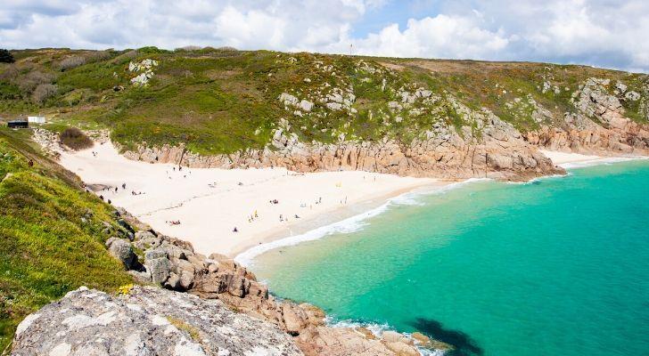 A UK beach