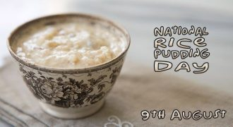 National Rice Pudding Day