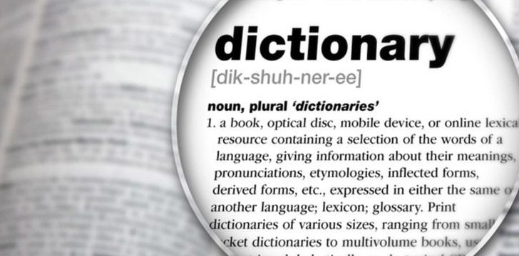 The Word Dictionary in a dictionary