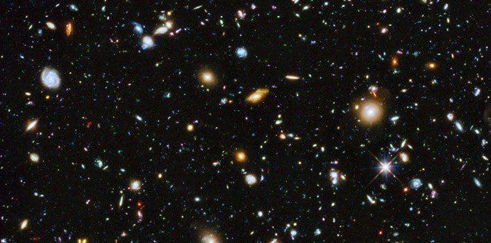 The Hubble 'Ultra Deep Field' in 3D