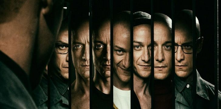 All personalities from the movie Split