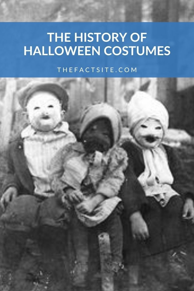 The History Of Halloween Costumes