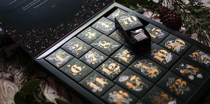 The Advent Calendar Chocolate.