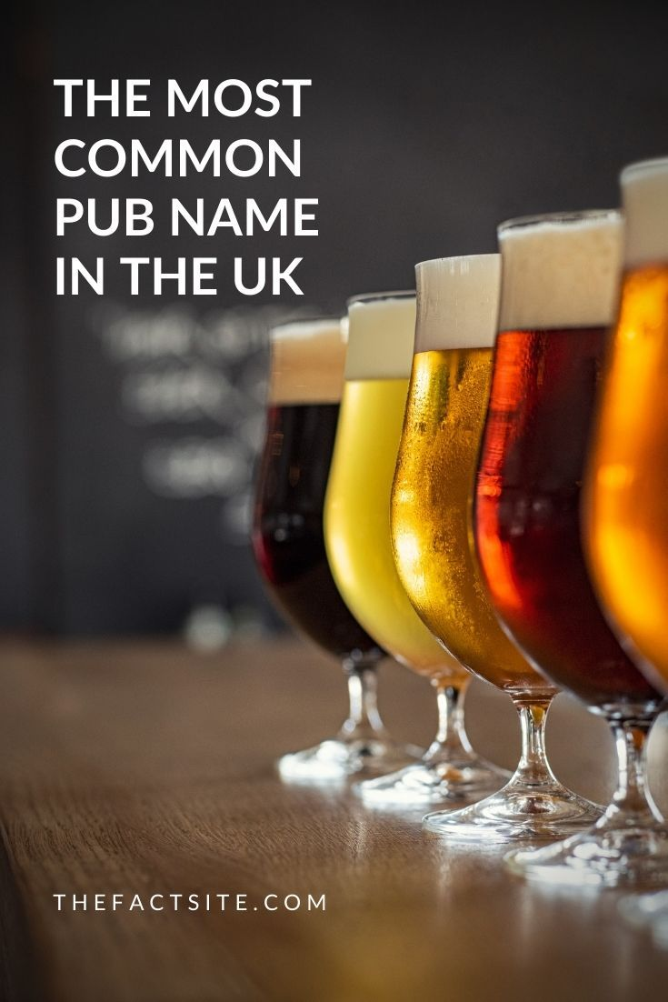 Most Common Pub Name In the UK