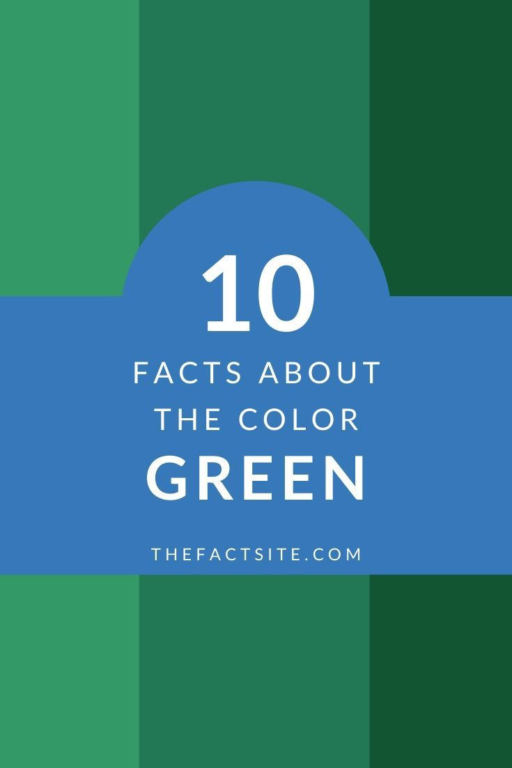 10 Great Facts About the Color Green