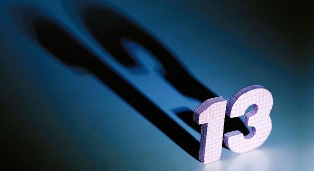 Facts About The Unlucky Number  13