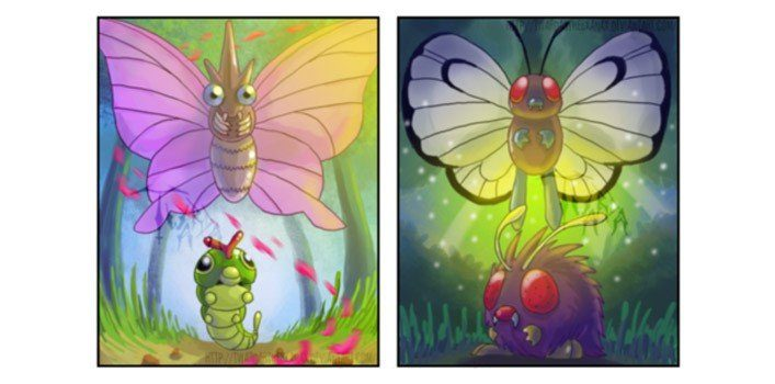 Venomoth, Butterfree Theory - Pokemon