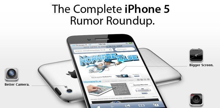 iPhone 5 Rumor Infographic