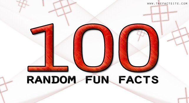 top 100 random fun facts the fact site