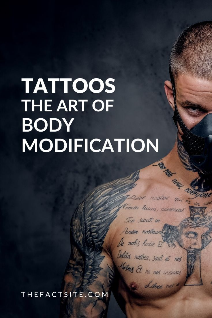 Tattoos - The Art of Body Modification