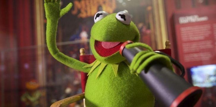 Kermit being confident