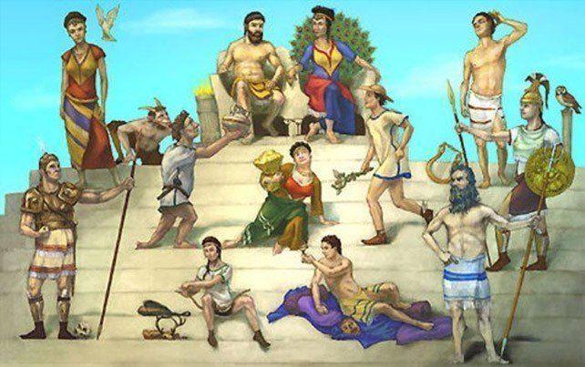 The Twelve Gods of Mount Olympus