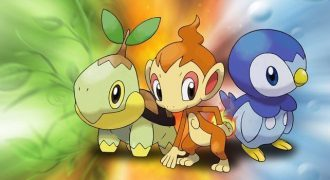 Fourth Generation Starter Pokemon