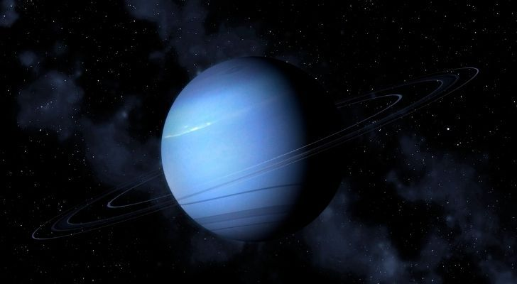 Neptune has three rings