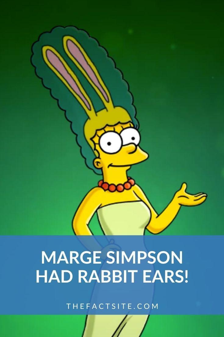 Marge Simpson Had Rabbit Ears! | The Simpsons