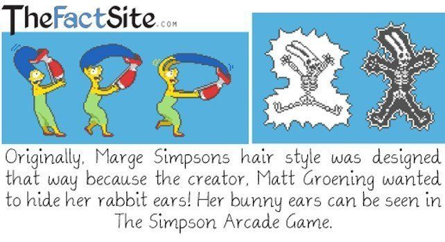 Marge Simpson Facts