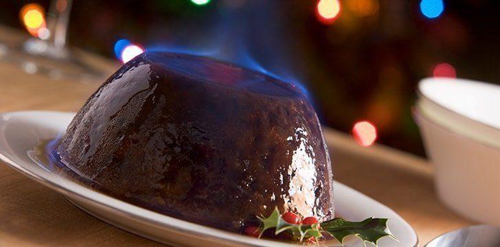Modern Christmas Pudding