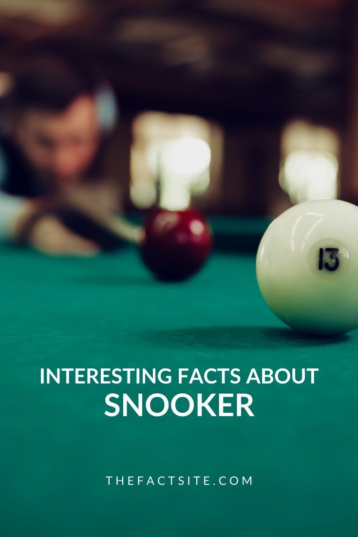 Interesting Facts About Snooker