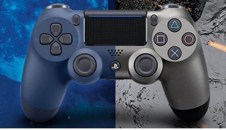 PlayStation 4 DualShock controller.