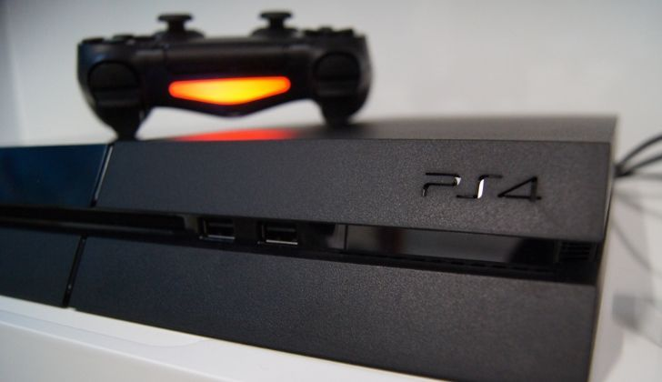 A picture of the PlayStation 4 design.