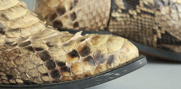 Snakeskin boots