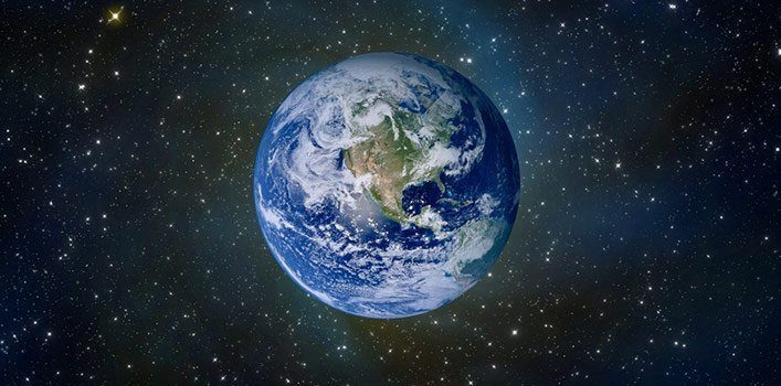 Photo of the Earth