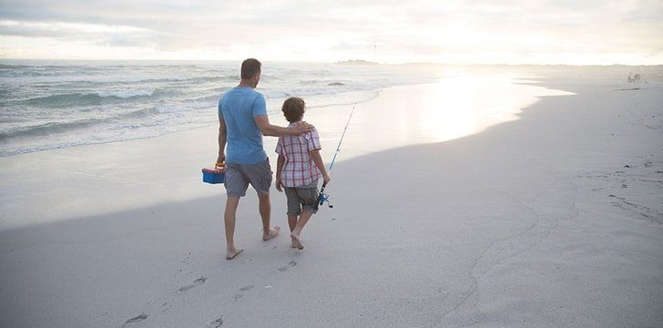 Going to the beach can improve your ability to fight off infections.