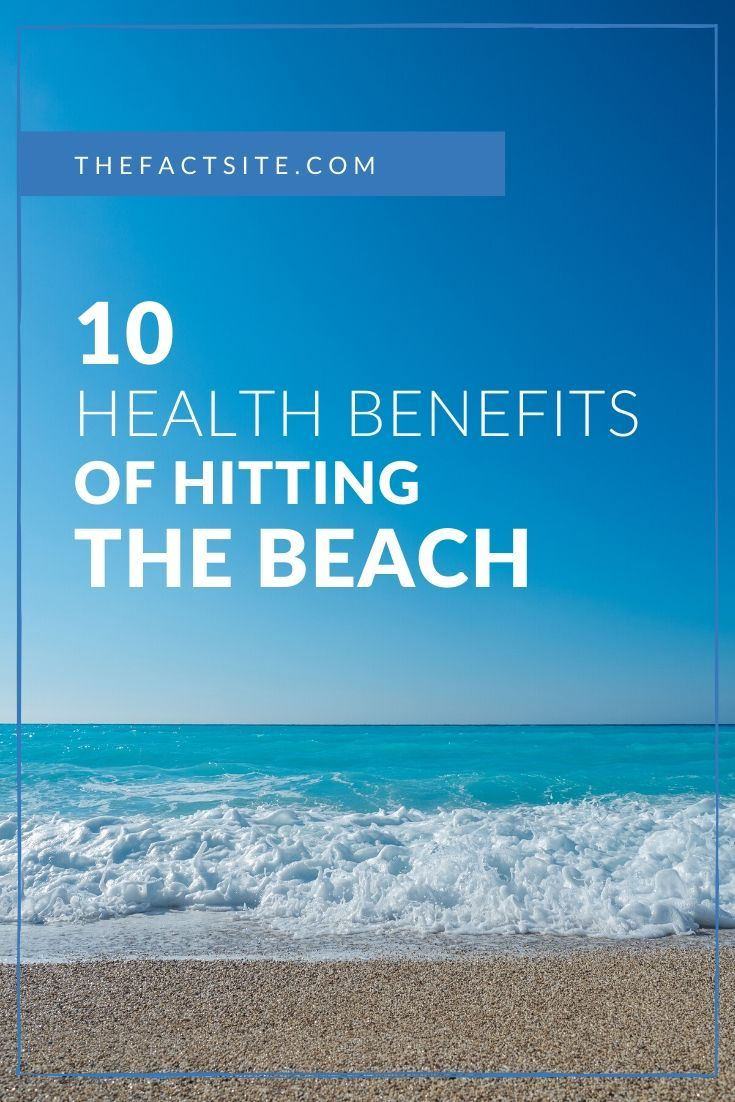 10 Health Benefits of Hitting the Beach