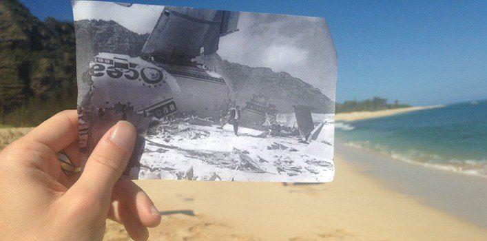Lost Oceanic 815 Crash Site