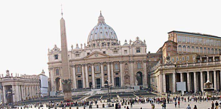 Outside The Sistine Chapel