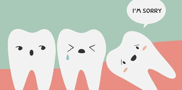 Wisdom teeth really get removed because of decreasing jaw sizes.