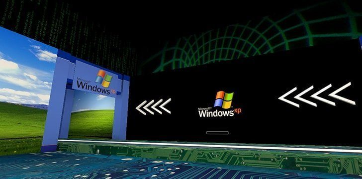 You can run XP and a newer version of Windows at the same time.