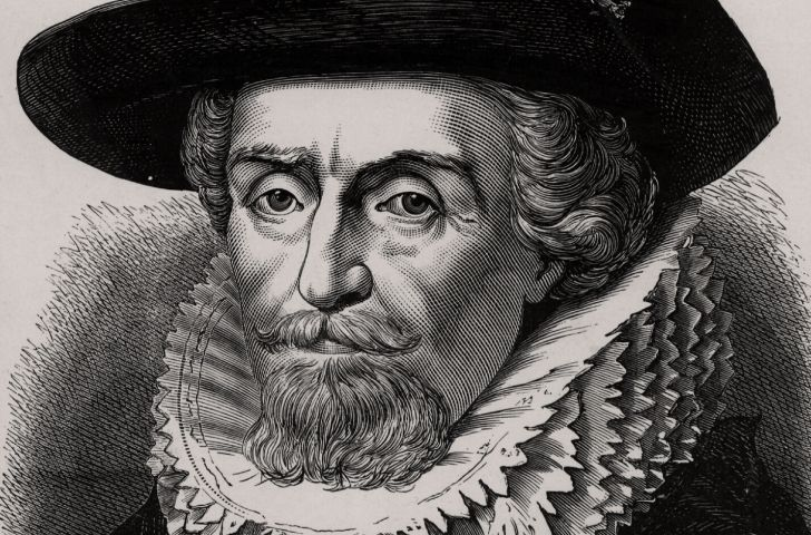 An illustration of James I.