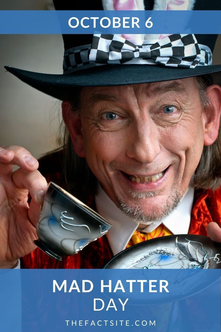Get Ready For Mad Hatter Day | October 6