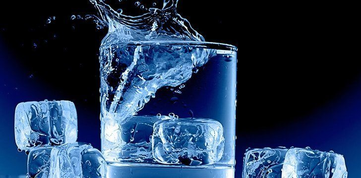 Drink a cup of water on the floorlevel.