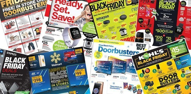 Black Friday wasn't officially claimed to be the busiest shopping day of the year, until 2001.