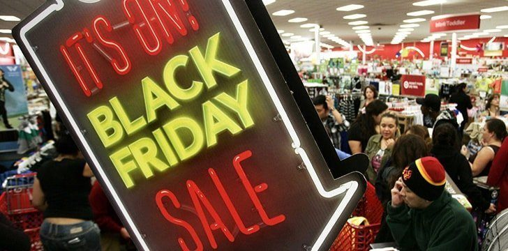 Black Friday has spread to over 15 countries in the world.