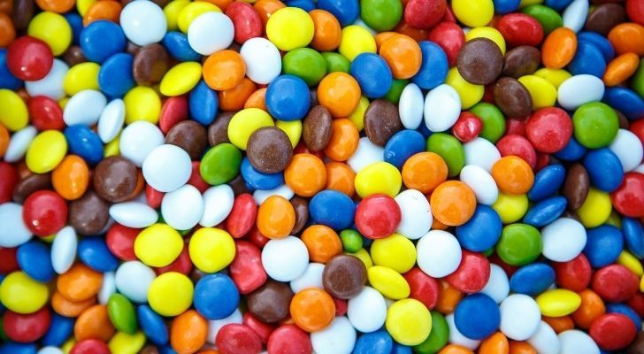 Lots of M&Ms