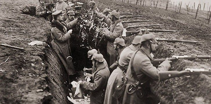 Christmas During War