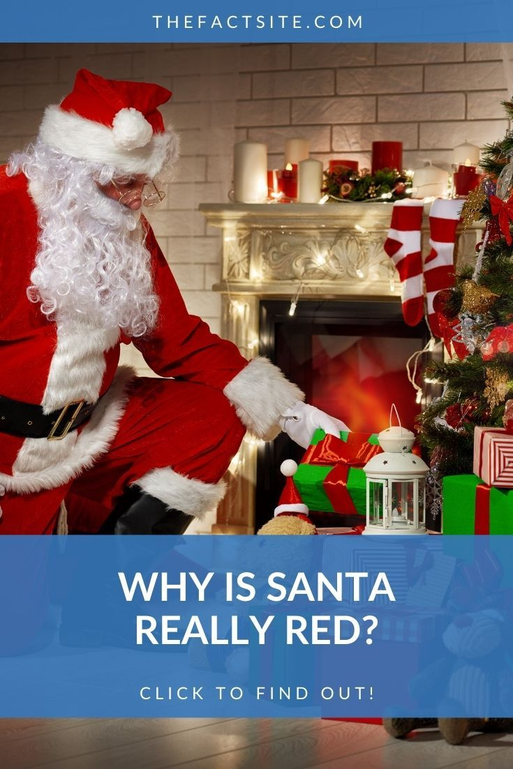 Why Is Santa Really Red?