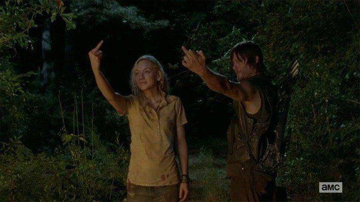 Beth Greene & Daryl Dixon