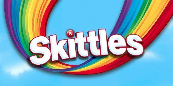 A Brief History of Skittles | The Fact Site Skittles Taste The Rainbow Logo