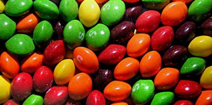 The red food dye for Skittles is made from boiled beetles.