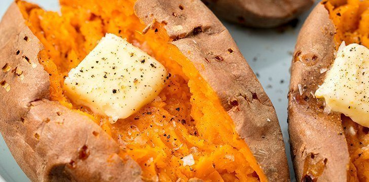 22nd February - Cook a Sweet Potato Day.