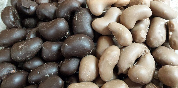 25th February - Chocolate Covered Nut Day.