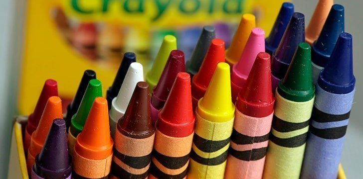 31st March - Crayola Crayon Day.