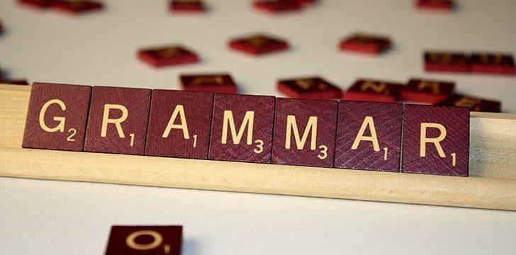 4th March - Grammar Day.