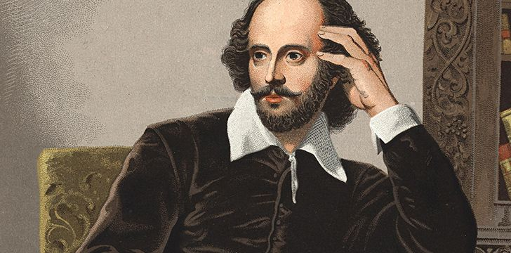 April 23rd - Talk Like Shakespeare Day.