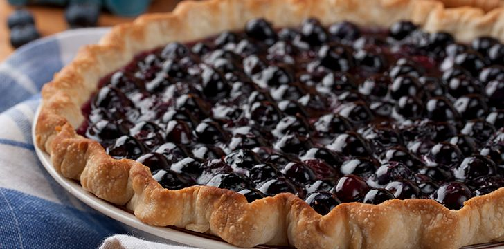 April 28th - Blueberry Pie Day.
